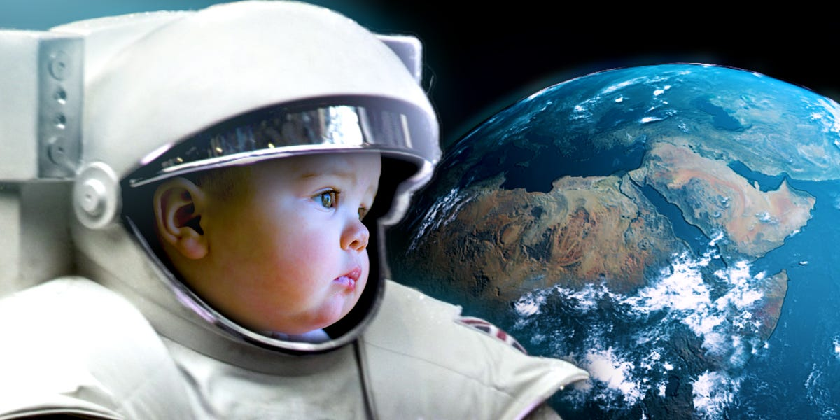 Perilous Process of Childbirth in Microgravity